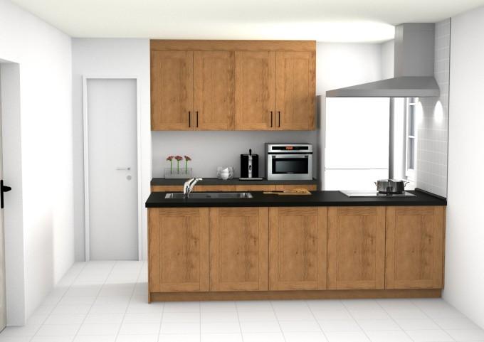 shabby chic kitchen model-min