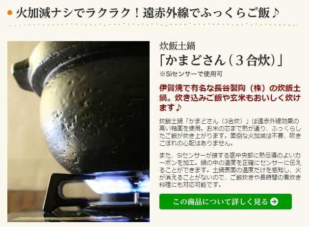 リンナイ-ガス炊飯器(2)