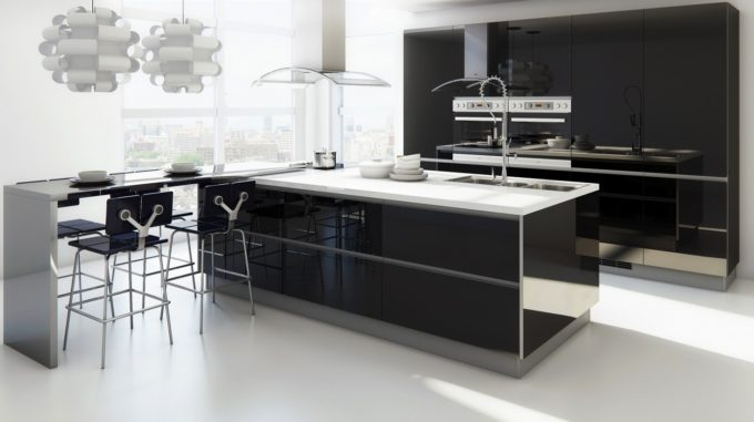 modern-kitchen-with-extended-bar